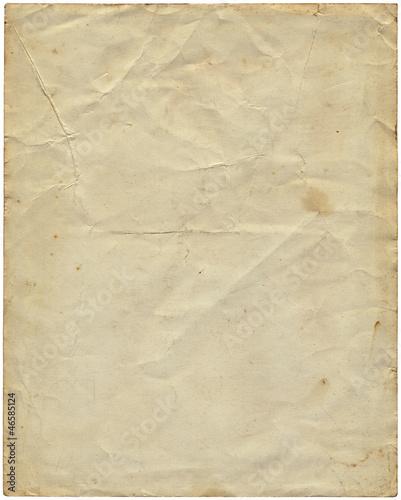Fototapeta Old vintage paper from 1977. obraz