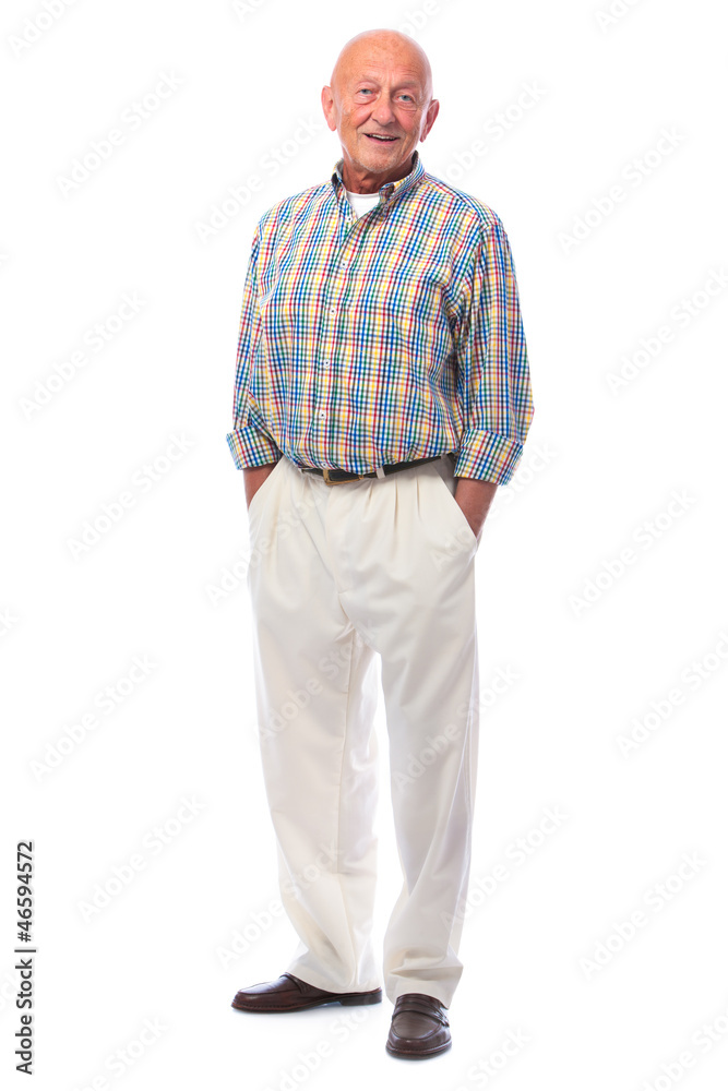 Fototapeta Handsome senior man standing