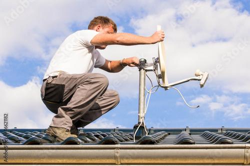 Antenne montieren