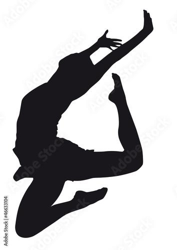 tancerz-sylwetka-na-bialym-tle