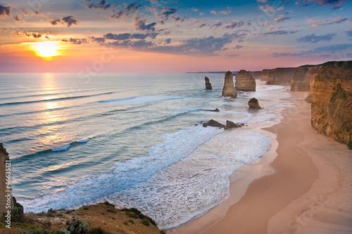 Fotografía  twelve apostles sunset