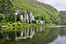 Kylemore Abbey In Connemara Mo...