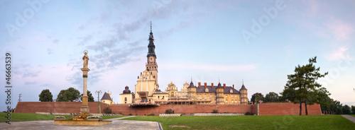 fototapeta na szkło Jasna Góra, panorama
