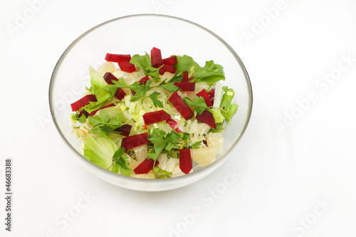 Fotografie, Obraz  Řepa a petržel salát