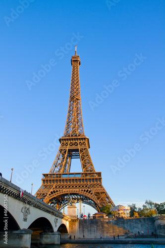 Papiers peints Paris eiffel tour and Seine, France