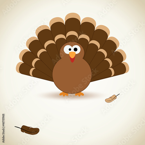 Thanksgiving card Poster