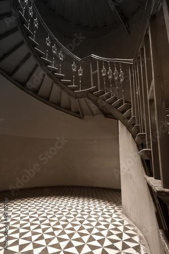 Photo Stands Stairs Tajemnicza klatka schodowa