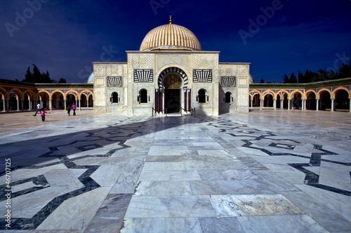 Staande foto Tunesië mausoleum in monastir