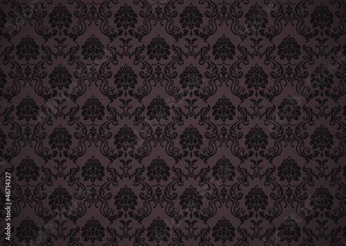 Papier peint baroque avec texture