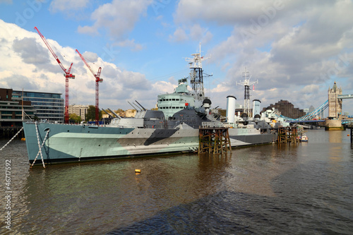Canvas HMS Belfast