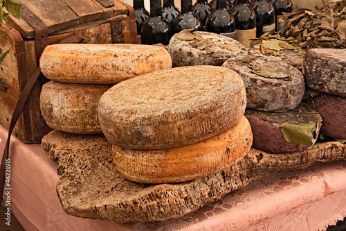 Photo  sardinian cheese
