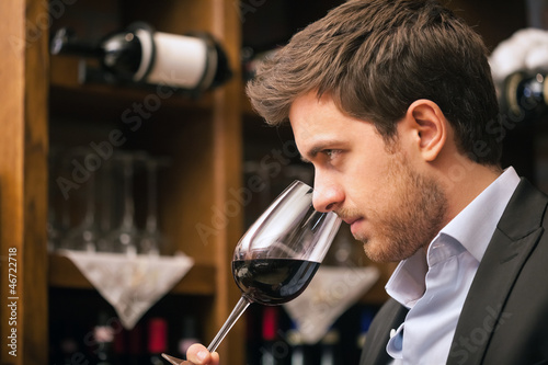 Fotografía  Red wine
