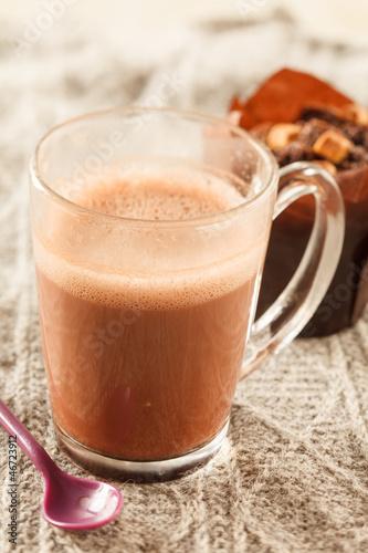 Foto op Plexiglas Chocolade cakes with chocolate
