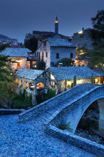 The Crooked Bridge, Mostar