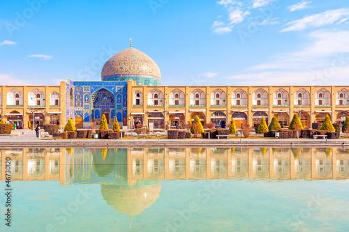 Fotografie, Obraz  Sheikh Lotf Allah Mosque, Naqsh-e Jahan Square, Isfahan, Iran.