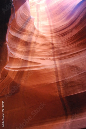 Upper Antelope Canyon, Page, USA Poster