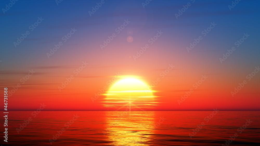 Fototapety, obrazy: 日の出