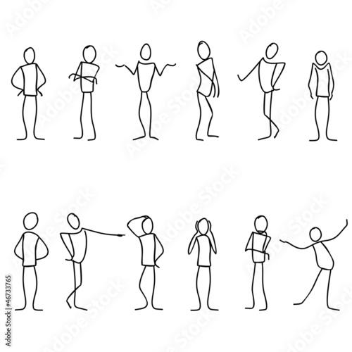 Nonverbale Kommunikation Tapéta, Fotótapéta