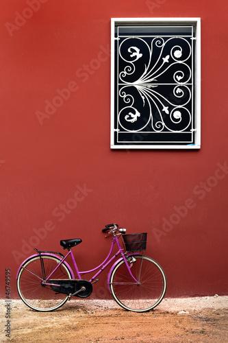 Fotobehang Fiets Dear Old Bicycle