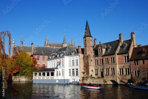 Poster Brugge La Ville Bruges