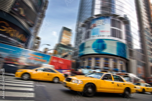 Papiers peints New York TAXI Taxis - New York, USA