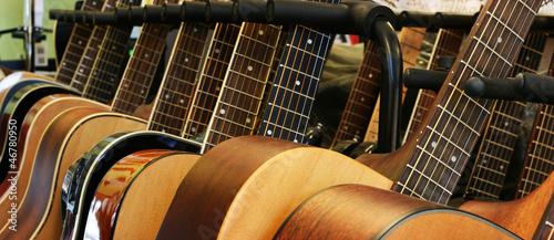 Obraz na plátně guitars