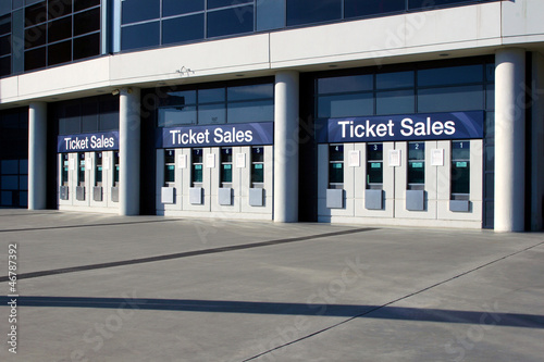 Recess Fitting Stadion Ticket Sales