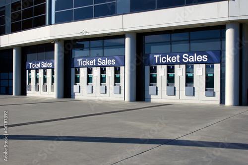 Poster Stadion Ticket Sales