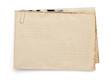 old vintage envelope  on white