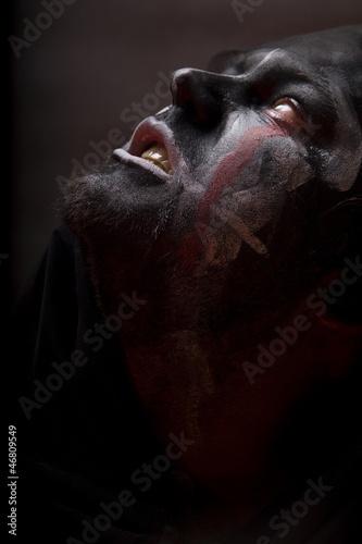 Obraz Demoniczny portret - fototapety do salonu