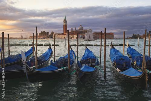 Spoed Foto op Canvas Morning in Venice (Riva degli Schiavon)