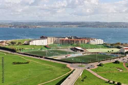 Instalaciones deportivas, La Coruña