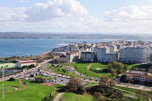 La Coruña, vista a la ciudad