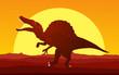 Dinosaur background 4