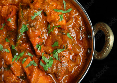 Indian Chicken Jalfrezi Curry Food Buy This Stock Photo And