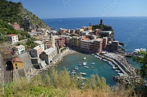 Poster Northern Europe Cinque Terre Corniglia