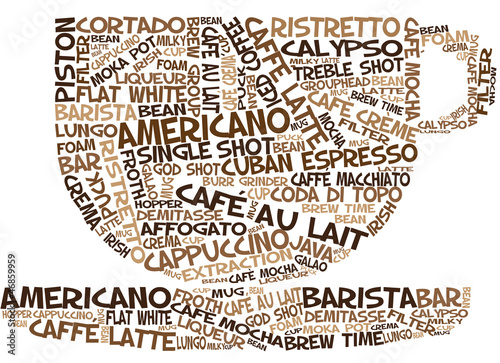 Coffee Cup Word Art Buy This Stock Illustration And Explore Similar Illustrations At Adobe Stock Adobe Stock
