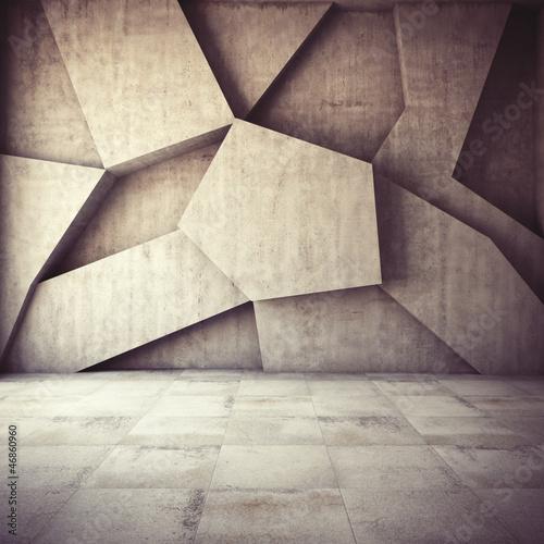 Fototapeta beton   geometryczny-beton-w-blokach
