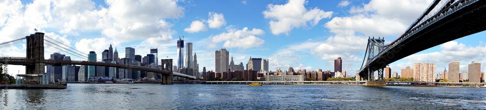 Fototapety, obrazy: Panoramic view of Manhattan