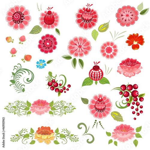 zestaw-kwiatowy-khokhloma