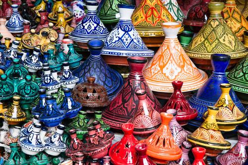 Poster Marokko Tajine