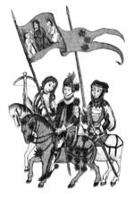 Joan Of Arc & Warriors - Jeanne D'Arc - 15th Century