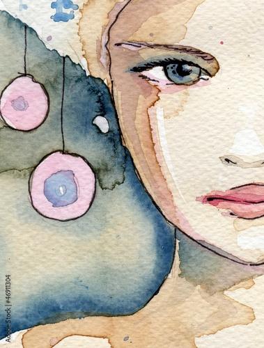 abstrakcyjny-portret-mlodej-kobiety