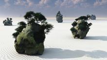 Fantasy Rock Islands