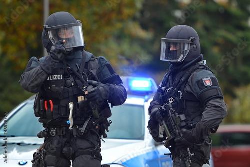 Fotografie, Obraz  MEK SEK Sondereinheit Spezialeinheit Polizei Hamburg