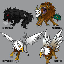 Mythical Creatures Set 04