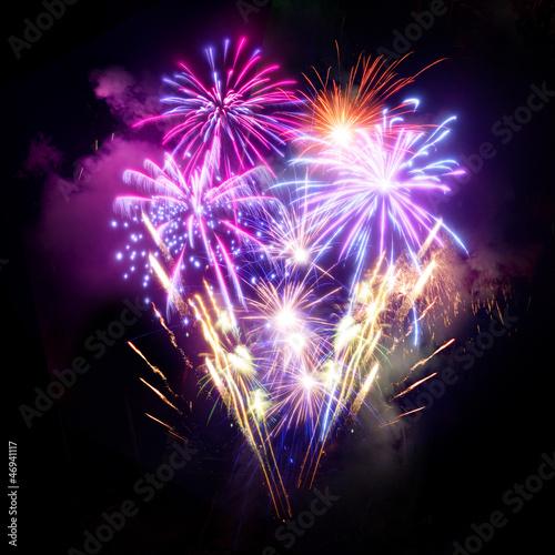 Photo  Fireworks Display