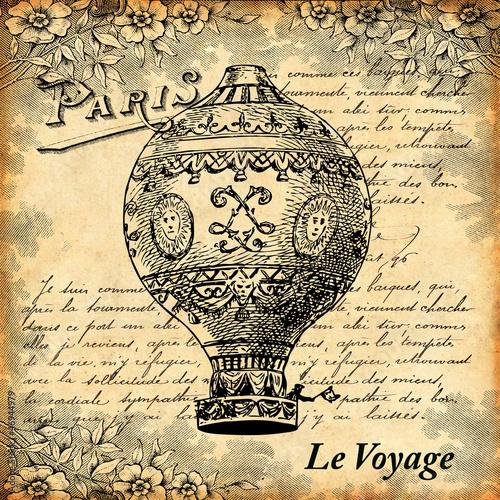 Photo  Voyage en montgolfière