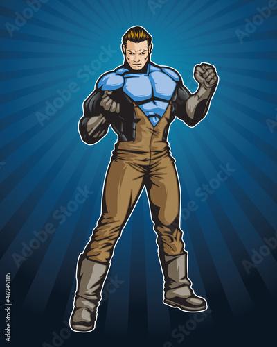 Poster Superheroes Super4 C