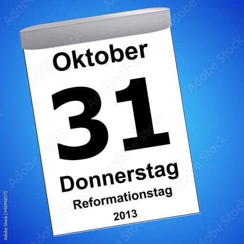 Reformationstag 31.10